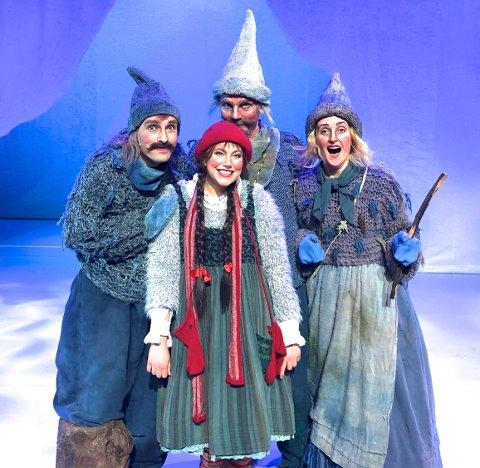KOMMER: Tosdag 28. november kommer Jul i Blåfjell til Kongsberg musikkteater.