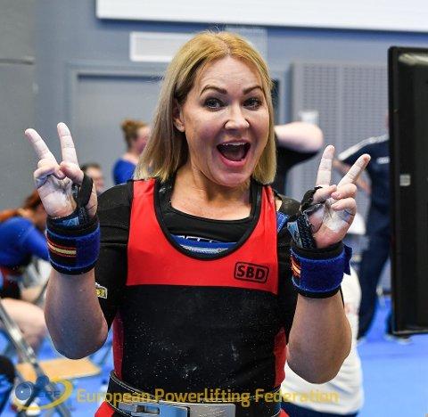Linda Kristensen hadde all grunn til å være fornøyd etter EM i Finland.