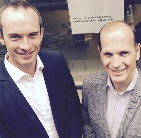 Råd: Jørgen Baardsen og Erik L. Griffin. Foto: Pressebilde