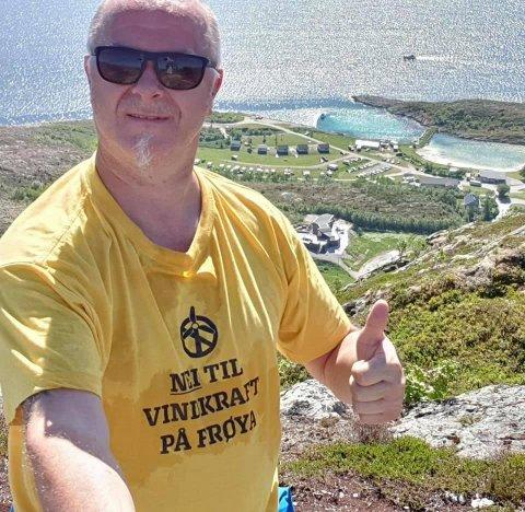 VAR SAKNA: Øyvind Johansen var meldt sakna, men blei torsdag kveld funnen i god behald i Aurlandsfjella.