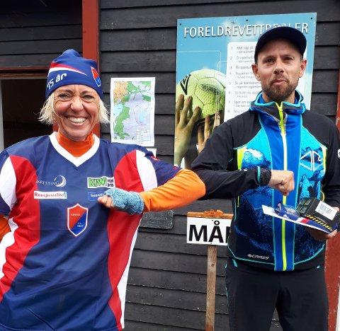 Den tidligere norgesmesteren på ski, Morten Eilifsen, likte veldig godt løypetraseen som vinneren i dameklassen Ragnhild Berthinussen og staben bak den 37. Gulltannmarsjen hadde merket.