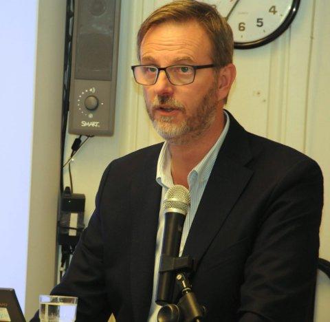 Ingen kommentar: Rådmann Kai Egil Bachèr sier at det ikke blir gitt kommentarer på enkeltinnspill i høringsrunder.