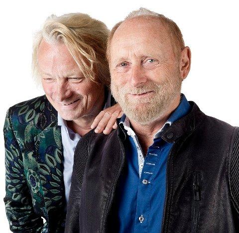 ROMEO OG JULIUS?: Egentlig ikke; Jan Eggum og Halvdan Sivertsen er det visst.