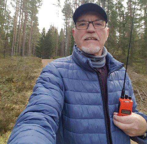 FORSTYRRES: Bjørnar Aarnes er teknisk ansvarlig for Follo og Øvre Østfold radiolag.