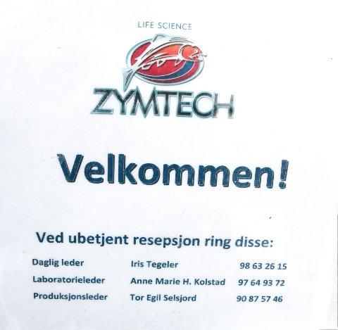 KONKURS: Zymtech ønsker velkommen. Men nå er det slutt.