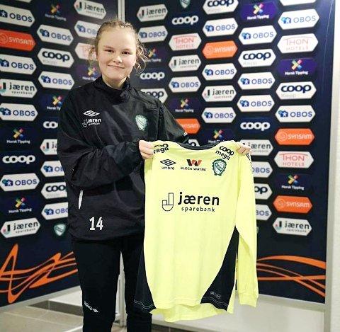 NY KLEPP-KEEPER: Julia Langåker kommer til Jæren til sommeren.