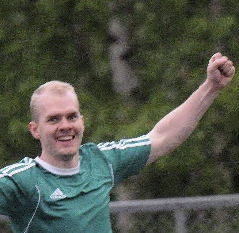 VANT: Håvard Kruge Urdal var en av dem som scoret for JOndalen, da de slo Skrim i lokaloppgjøret.