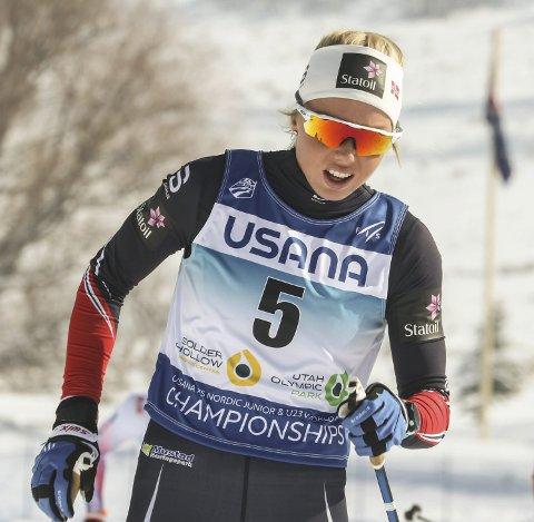 NEST BEST: Marthe Mæhlum Johansen skulle gjerne vært i sprintfinalen.