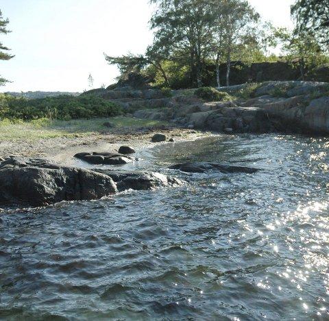 Bortgjemt paradis: Furuholmen er ikke mye besøkt, men absolutt verdt å ta turen innom hvis du er ute i fjorden.