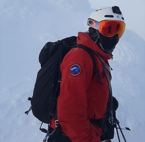 FAGLEDER: Ole Tonny J. Larsen er fagleder i skredgruppa i Telemark, og mener folk utfordrer seg selv og skjebnen litt for mye i vinterfjellet.