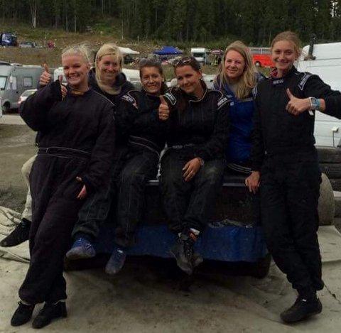 Ruler: Det er en sterk økning i antall deltakere på jentesiden i bilcross i øyeblikket.