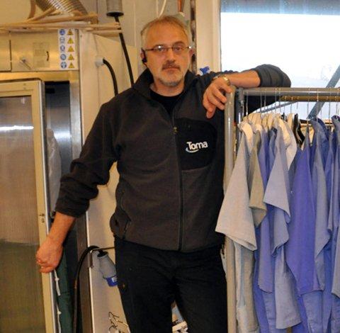 Nytt firma: Johnny Eliassen har startet opp firmaet Konsnord AS.