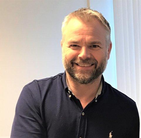 NY JOBB: Etter 16 år som banksjef skal Ingar Valvik bli ny finansdirektør for Sande Aqua sitt nye prosjekt.