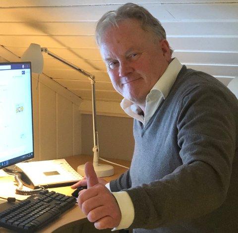 FORNØYD: Svein Ingar Damre forteller at Zenitel kom seg godt gjennom pandemiåret.