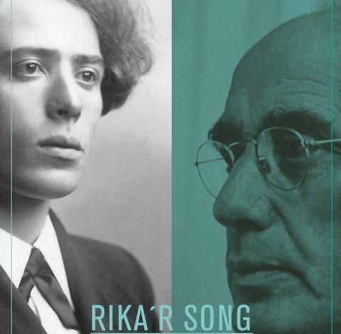 MARKERING: John Rustad minner om at det er 125 år siden forfatteren Inge Krokann ble født. Bildet viser utsnitt av forsida på boka «Rikar´r song du alder fæ», skrevet av Tore Fagerhaug.