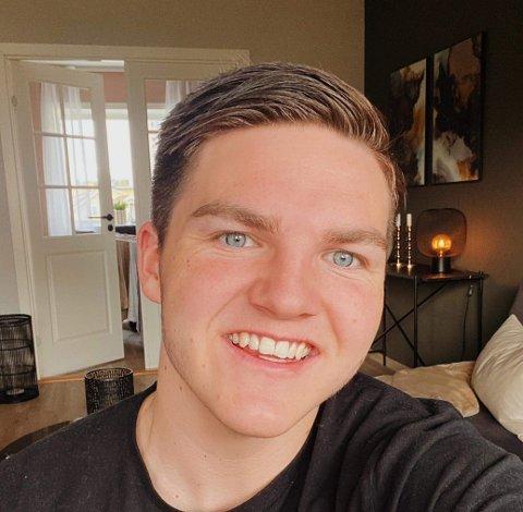 Mathias Nordlien er en av mange studenter som har fått en spesiell studietid.