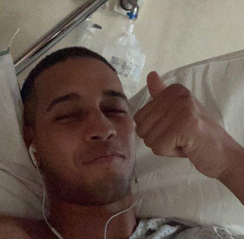 NYOPERERT: Bruno Leite håper at han snart er tilbake på fotballbanen.