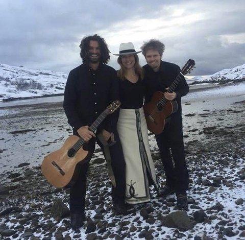 Tango: Trio Nevado med Nina Bendiksen i spissen hjolder konsert i Mosjøen kommende torsdag.Foto: pressefoto