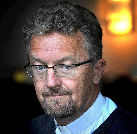 TIL STAVANGER: Torgeir Tveter blir prest i Metodistkirken i Stavanger etter ti år i Sarpsborg.