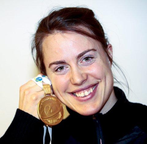 Synnøve Solemdal ble verdensmester i stafett tidligere i år.