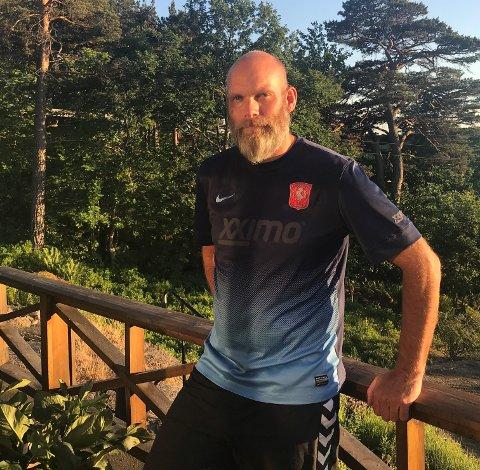 HOLDER ORD: trener Thomas Bergan står for sin uttalelse og er nå klar for å gå til Kongsberg.