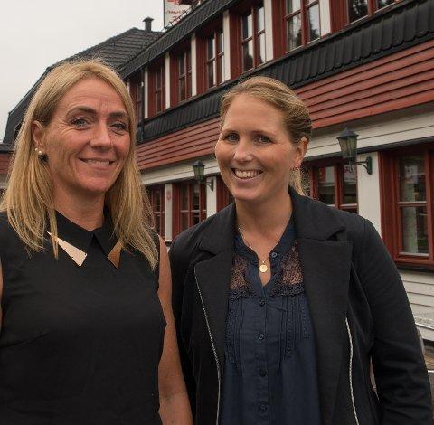 Mortens Kro blir styrt av to kvinner, nemlig daglig leder Siw Hausmann (t.v.) og innehaver Heidi Hansen.