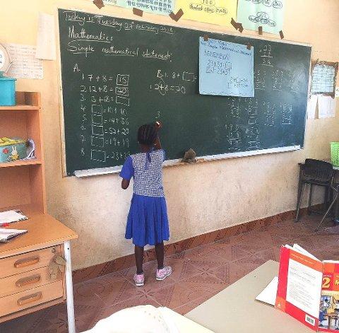 STORE PROBLEMER: Butterfly Friends driver flere skoler i Gambia. Nå trekker hele styret seg etter fire måneder fordi det ikke er samsvar mellom hvor omfattende driften er og midlene som kommer inn i form av gaver.