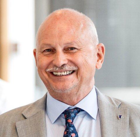 FYLKESORDFØRERKANDIDAT: Roger Ryberg er godt fornøyd med andreplassen, og blir fylkesordfører hvis Ap kommer til makten.