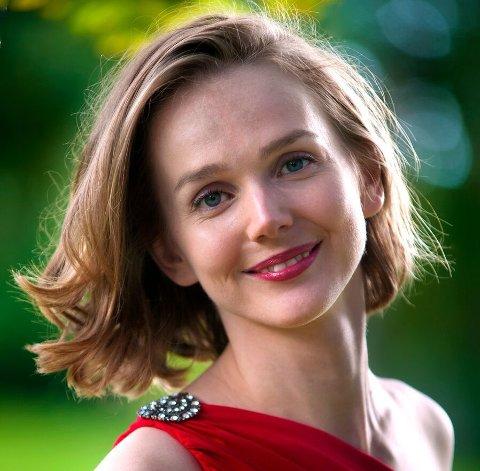 Gjev plass: Mezzosopran Marianne Bye Granheim fra Eidskog sang seg til den eneste ledige plassen i Det Norske Solistkor.