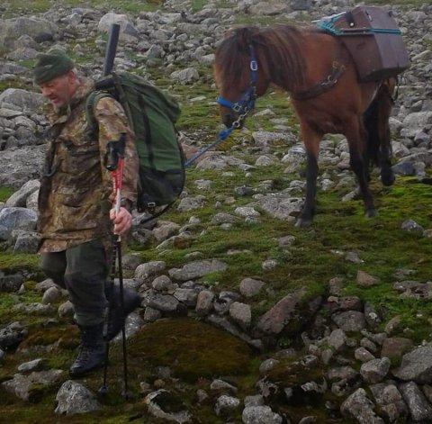 Håkon Småbrekke frå Røldal likar seg i fjellet og på jakt.
