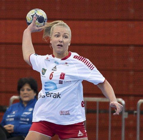 Minneverdig: Marthe Edvartsen opplevde noen dramatiske måneder i Larvik, men har stort sett bare gode minner fra oppholdet i Eliteserien. Foto: Joachim Hellenes