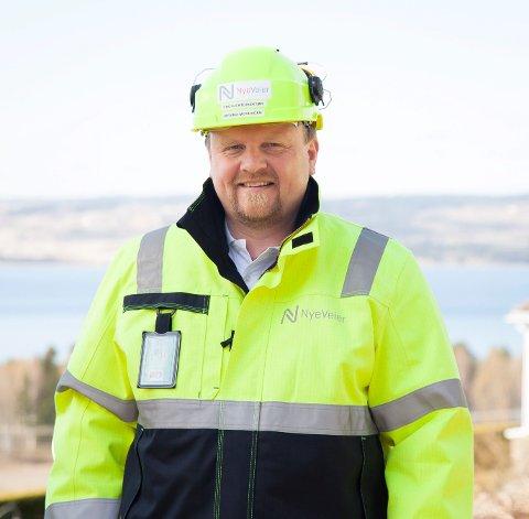 PROSJEKTDIREKTØR: Øyvind Moshagen, Nye Veier.