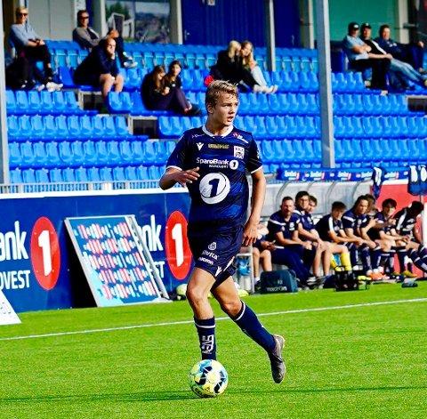 FIN UTVIKLING: Preben Asp har hatt fin progresjon som fotballspiller etter at han flyttet til Kristiansund.
