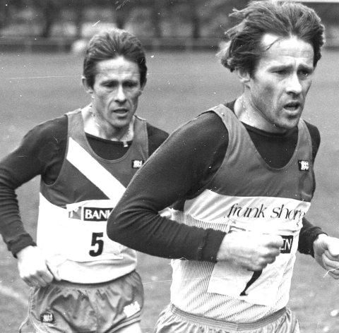 Sterke løpere: Brødrene Asle og Bjørn Olsen.