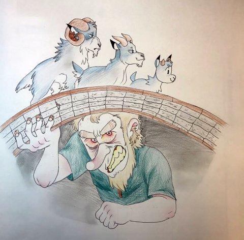 illustrasjonen  til årets Barnebokfestival er laget av Michelle Hansen.