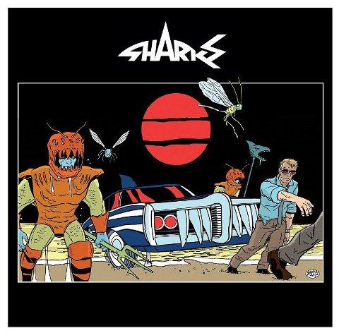 Sharks- ute med ny plate på vinyl.