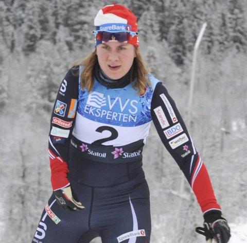 MISFORNØYD: Anne Karen Olsen hadde høyere målsetting enn tiende- og tolvteplass i de to siste rennene i Finland.