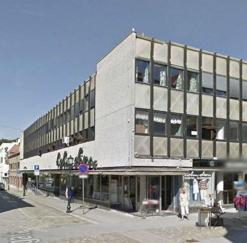 BOLIGER: Eierne av Storgata 14 ønsker å gjøre Skatteetatens tidligere lokale i 3. etasje om til fire, store leiligheter.