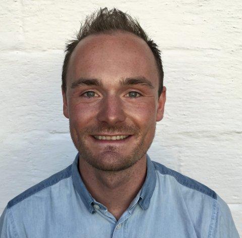 Nytt fjes: Olav Aleksander Benjaminsen kommer rett fra jobben som sportsdirektør i Team Coop til stillingen som prosjektleder i Event Lofoten.Foto: Privat