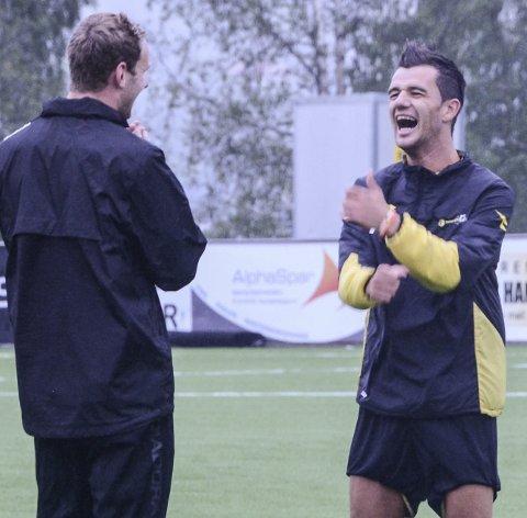 Rocky Lekaj nærmer seg en overgang fra Raufoss til Kristiansund. Fredag ettermiddag ble klubbene enige om en overgangssum for toppscoreren.
