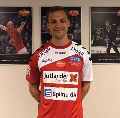 TIL AALBORG: Lukas Sandell er klar for den danske mesterligaklubben Aalborg fra og med neste sesong.