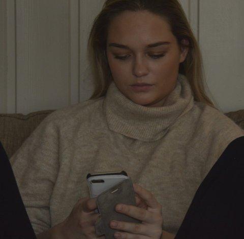 SMS: Anja og Tande hadde tett kontakt i pausen.