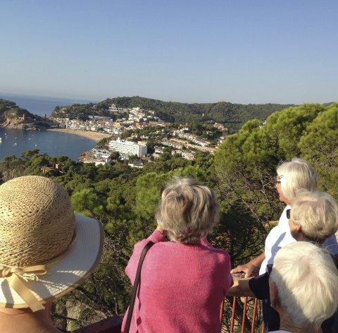 PENSJONISTTUR: Turen til Spania for pensjonistene fra Sande og Holmestrand ble vellykket. ALLE FOTO: LIV ARNESEN