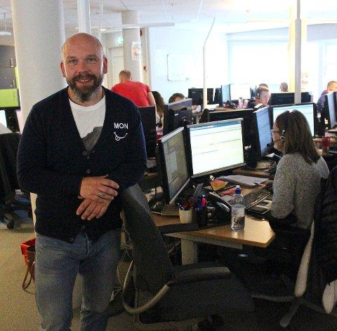 Tre år: Ingar Svingen var daglig leder for Schibsteds kundesenter på Fagernes fra desember 2014 til desember 2017.