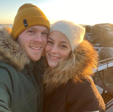 Til Bodø: Ida Martea Mikkelsen og Aleksander Herregården deler valg av studie og interesser. Nå skal de flytte fra Fredrikstad til Bodø for å oppleve nordnorsk natur og å bli kjent med nye folk.