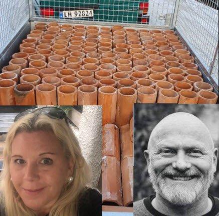 """Anita Nock skulle kvitte seg med innredningen i vinkjelleren i huset hun og ektemannen har kjøpt i Paul Holmsens vei. """"Morsomt at det blir hummere i den gamle vinkjelleren, og fint at den blir brukt i stedet for å ende som fyllmasse på Øra"""" sier Nock, som er mest kjent som bystyrerepresentant for Frp."""