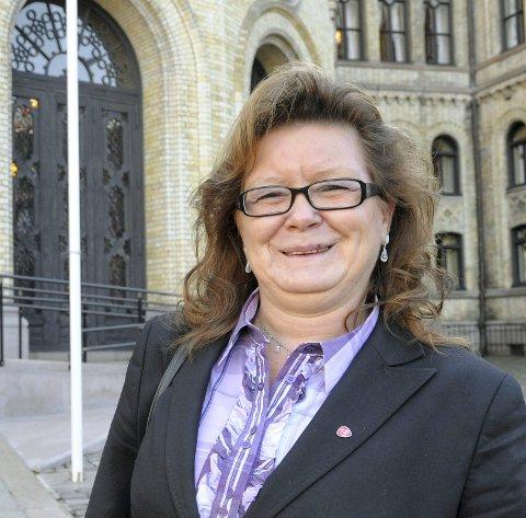 MØTE: Styreleder Wenche Olsen innkaller til møte i Halden Arbeiderparti. Arkiv.