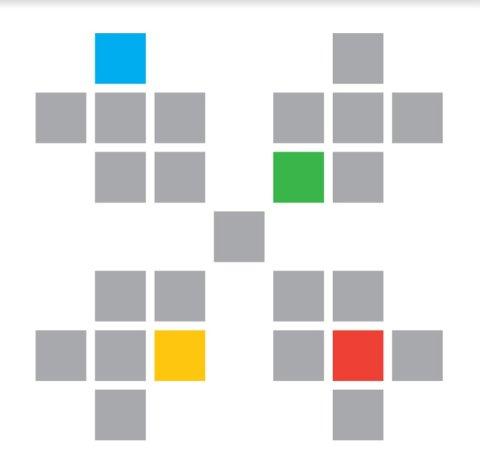 Slik ser logoen til Hardanger spillfestival ut. Augon Johnsen har stått for designet.