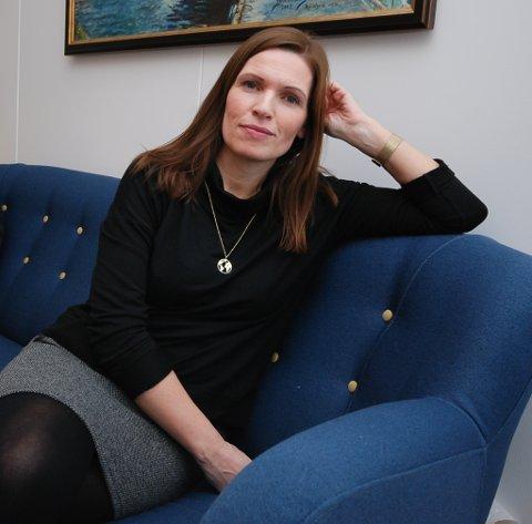 TUNG AVGJØRELSE:  Ønsket om den trygghet nærhet til sykehus gir, er hovedgrunnen til at Stine Akselsen tar med familien og flytter til Tromsø.