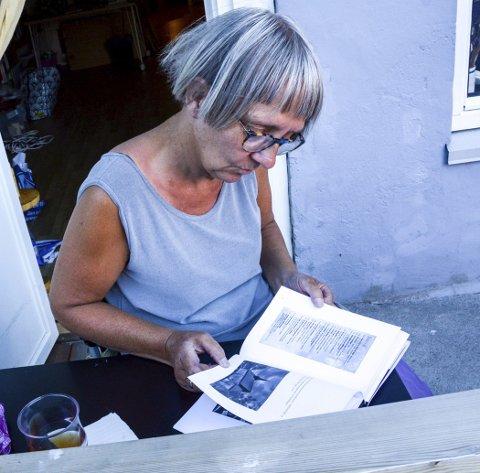 Forfatter: Anne Danielsen er med på boken «Menneske musikk poesi», som Kammerpoetane har gitt ut.